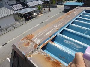 石川店折半屋根雨漏り修理05_03