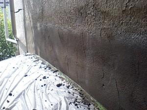 出窓からの雨漏り08